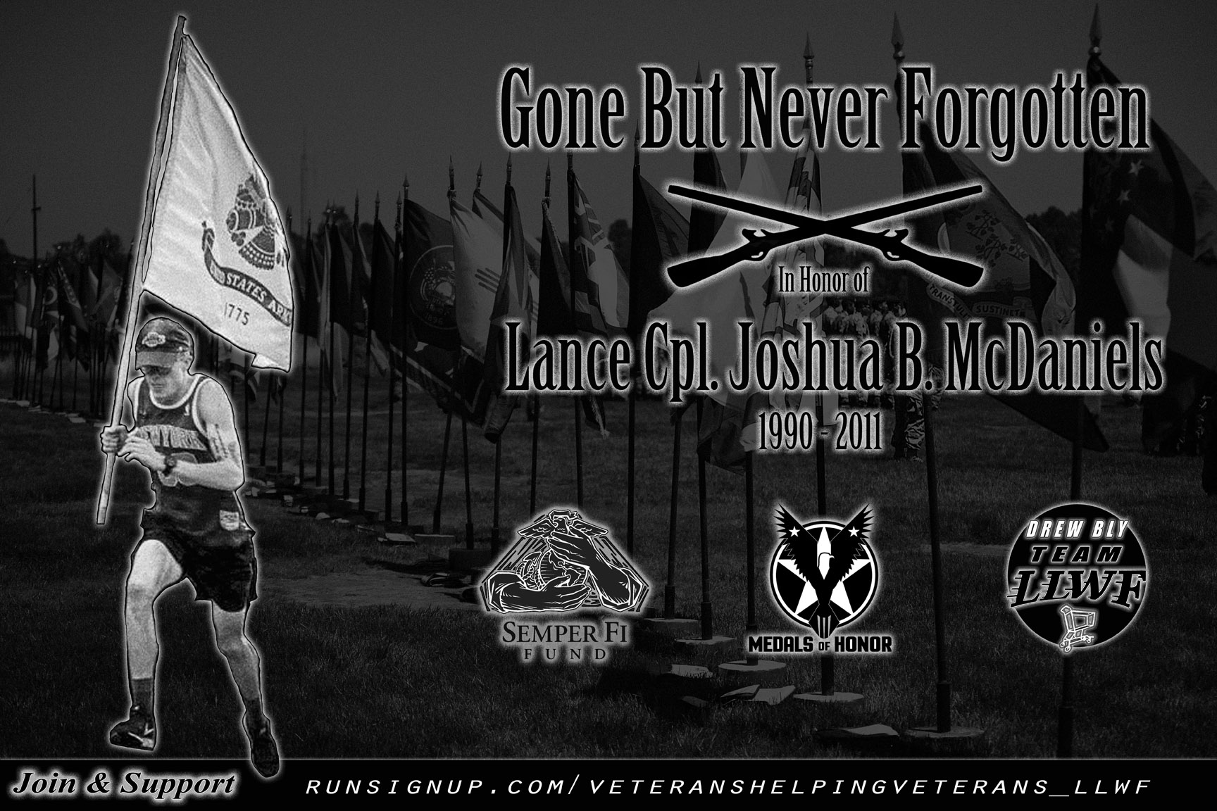 In Honor of Lance Cpl. Joshua B. McDaniels